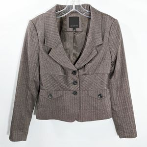 The Limited Gray lined Blazer, Size 0